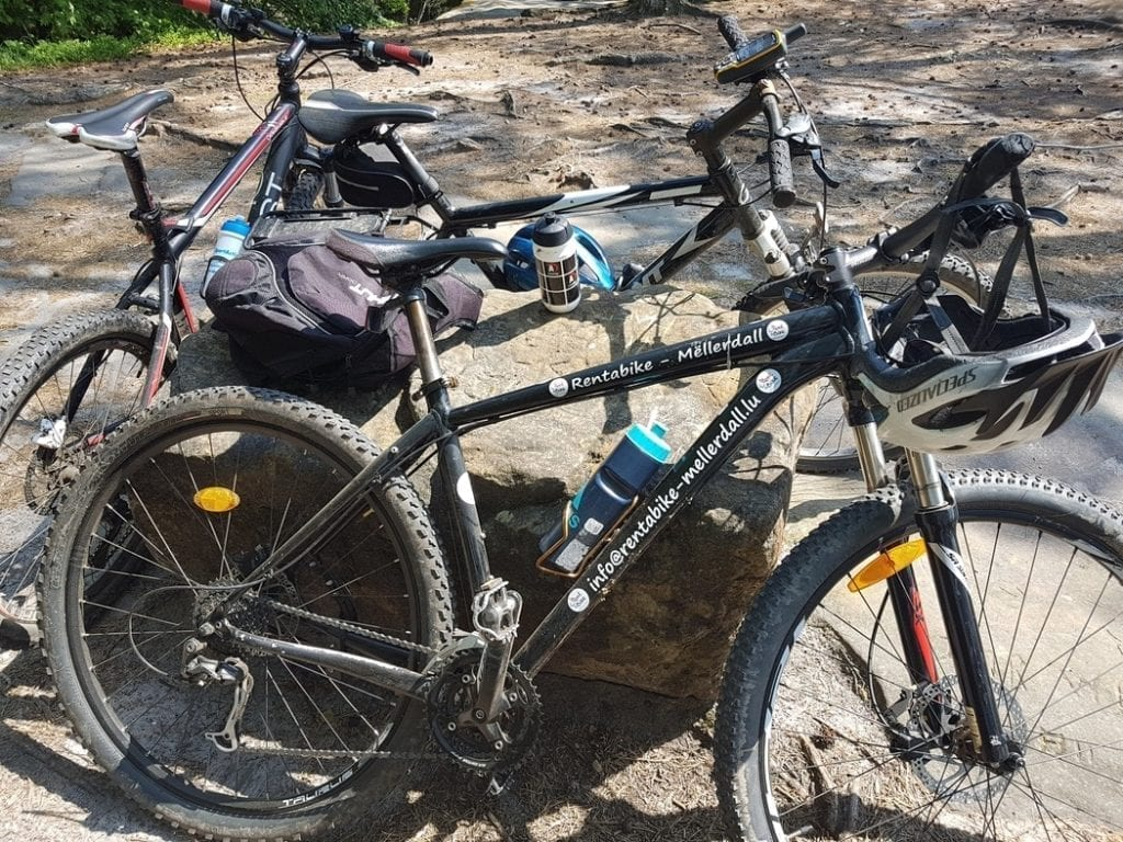 Cycling in the Mullerthal region of Luxembourg is made easy by the number of bike hire companies renting out mountain bikes