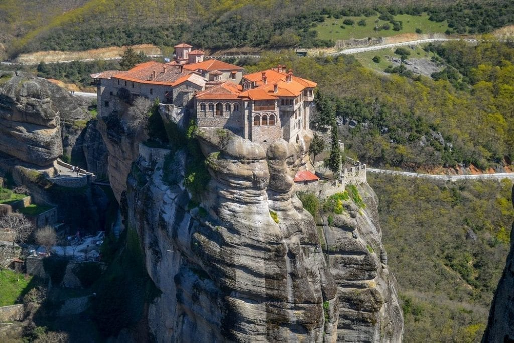 A guide on getting to Meteora in Greece by car, bus, and train