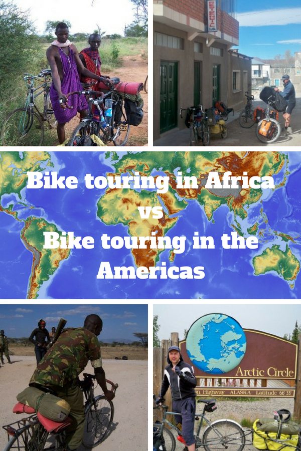 Bike touring in Africa vs bike touring in the Americas