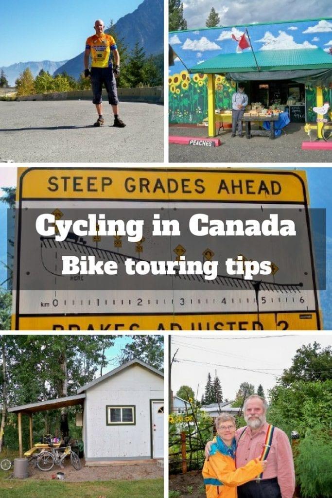 Cycling in Canada - Bike Touring Tips