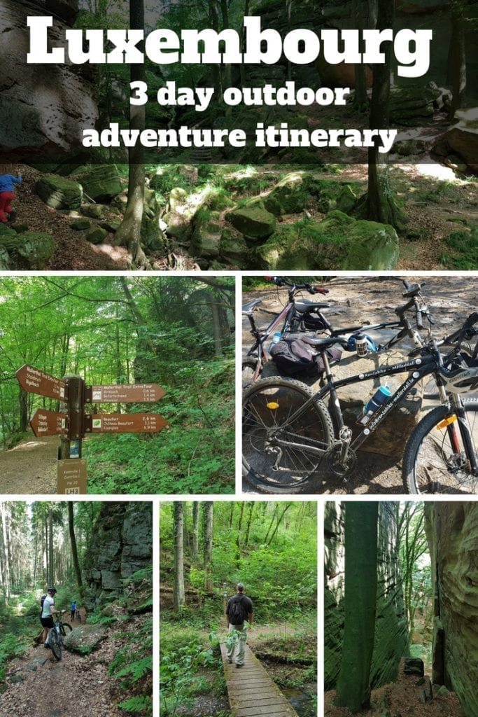 Luxembourg - A 3 day outdoor adventure itinerary