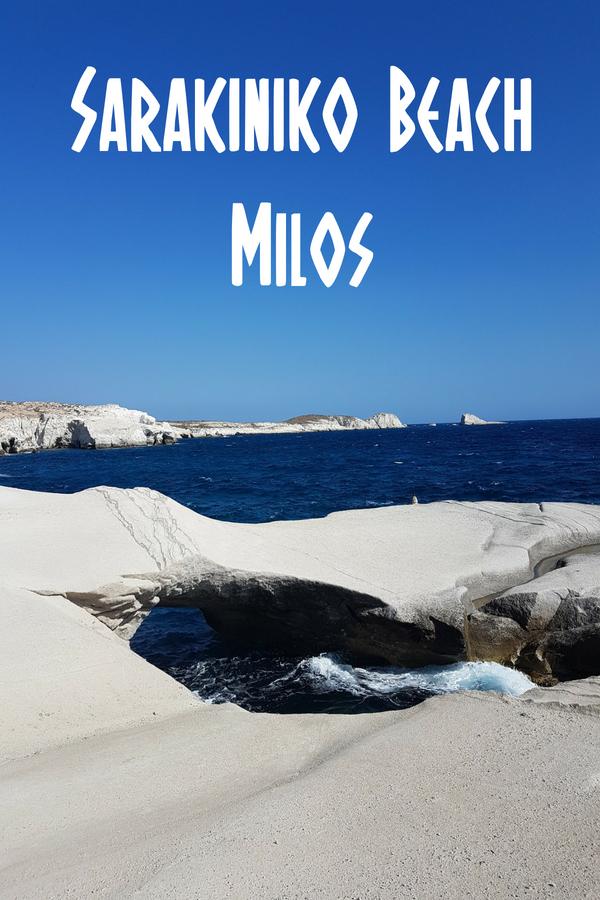 Sarakiniko Beach Milos - One of the most beautiful beaches in Greece
