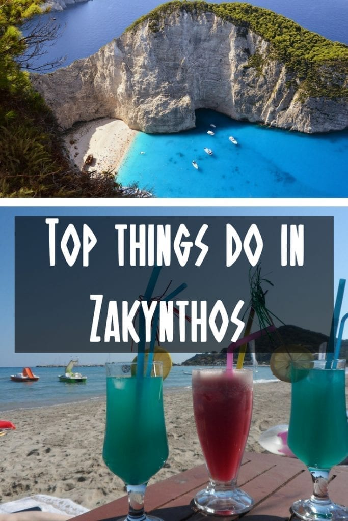 Top things to do in Zakynthos island Greece