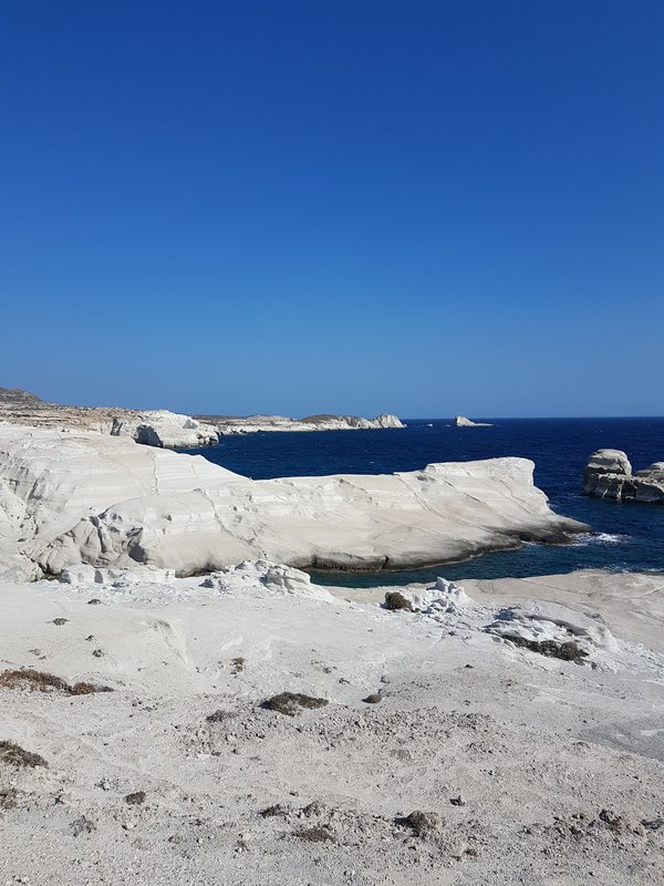 If you are planning to visit Sarakiniko Beach in Milos, these tips are essential reading before you do anything else!