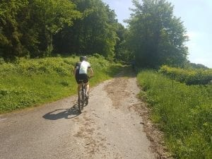 Cycling along the Mullerthal Trail in Luxembourg