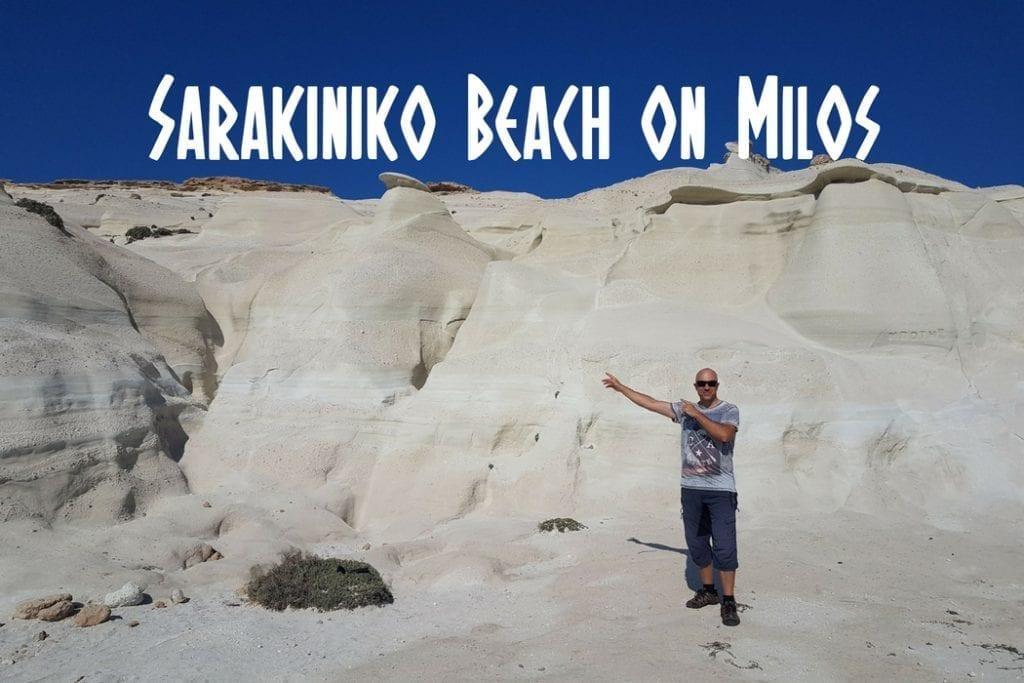 An honest guide to visiting Sarakiniko Beach on Milos