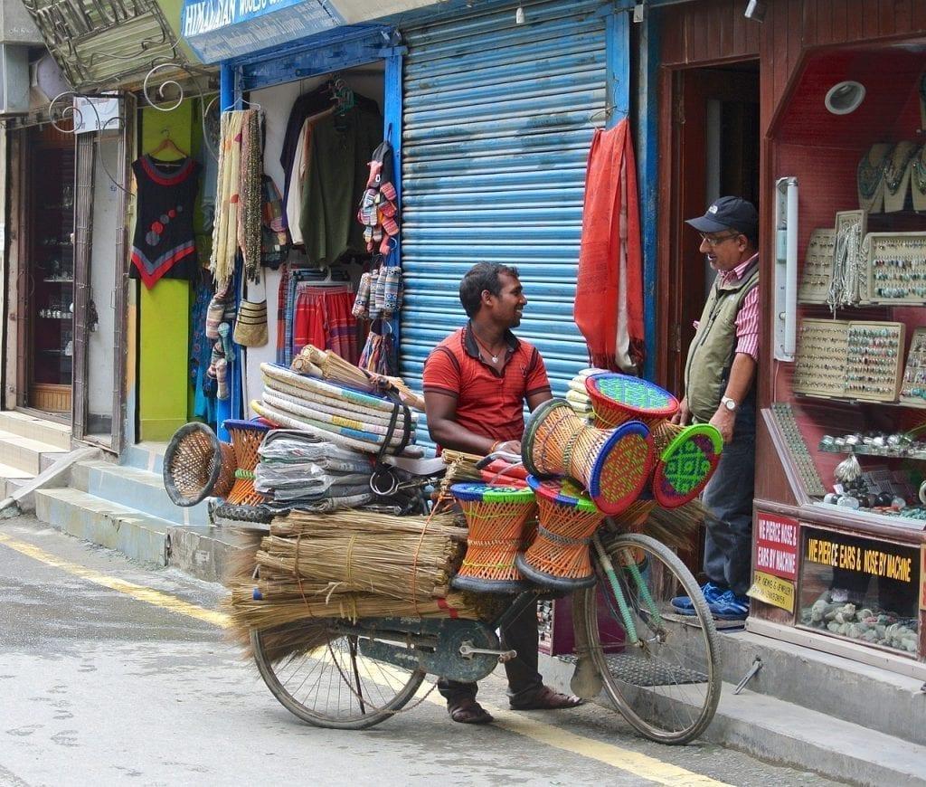 Street life in Kathmandu, Nepal