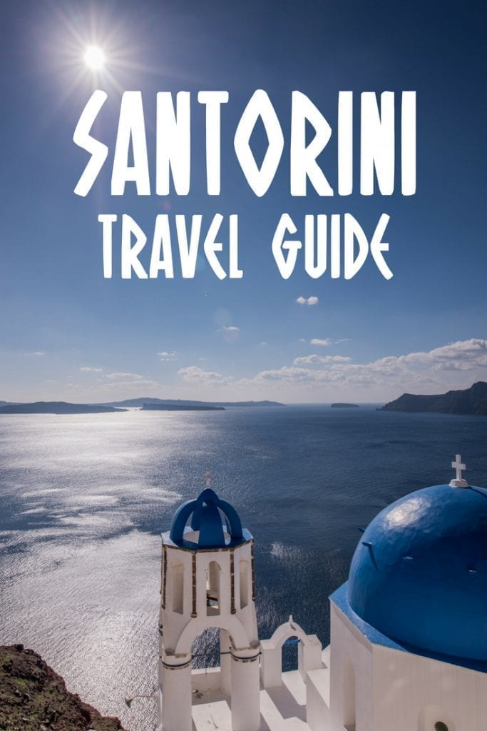 The Ultimate Santorini travel guide. Includes things to do in Santorini, where to stay in Santorini, the best time to visit Santorini, day trips from Santorini, the best beaches in Santorini, and more.