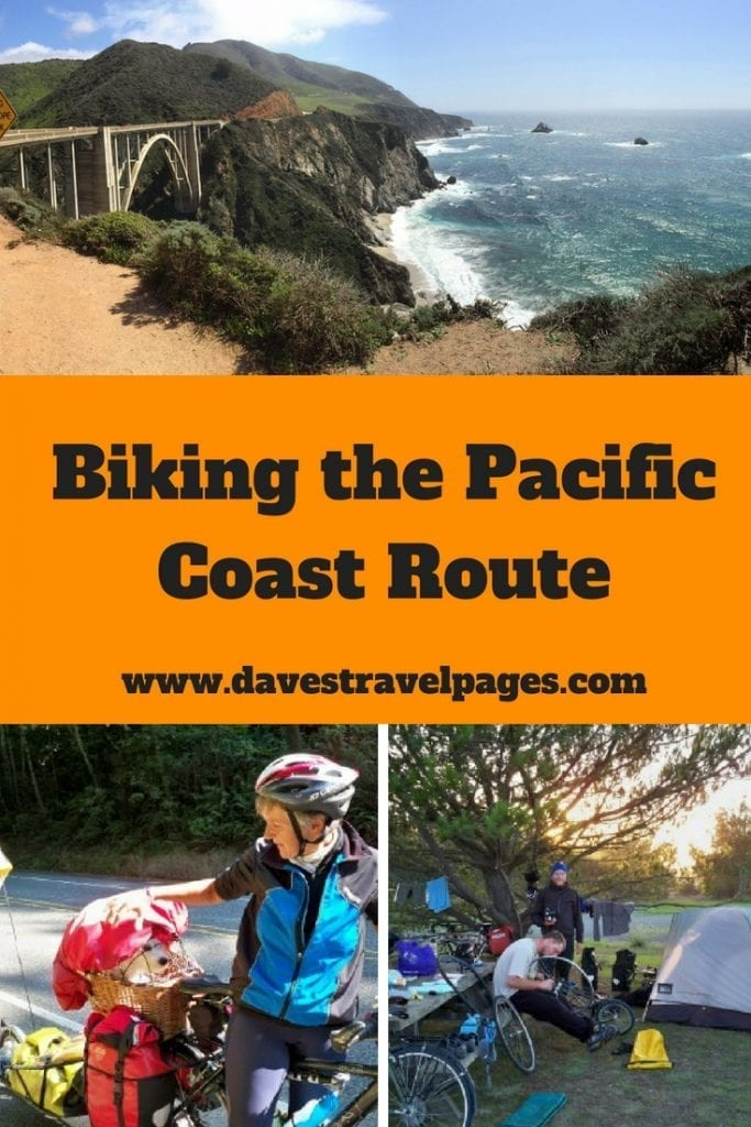 Biking the Pacific Coast Route - Bike touring tips and information for cycling the west coast of the USA.