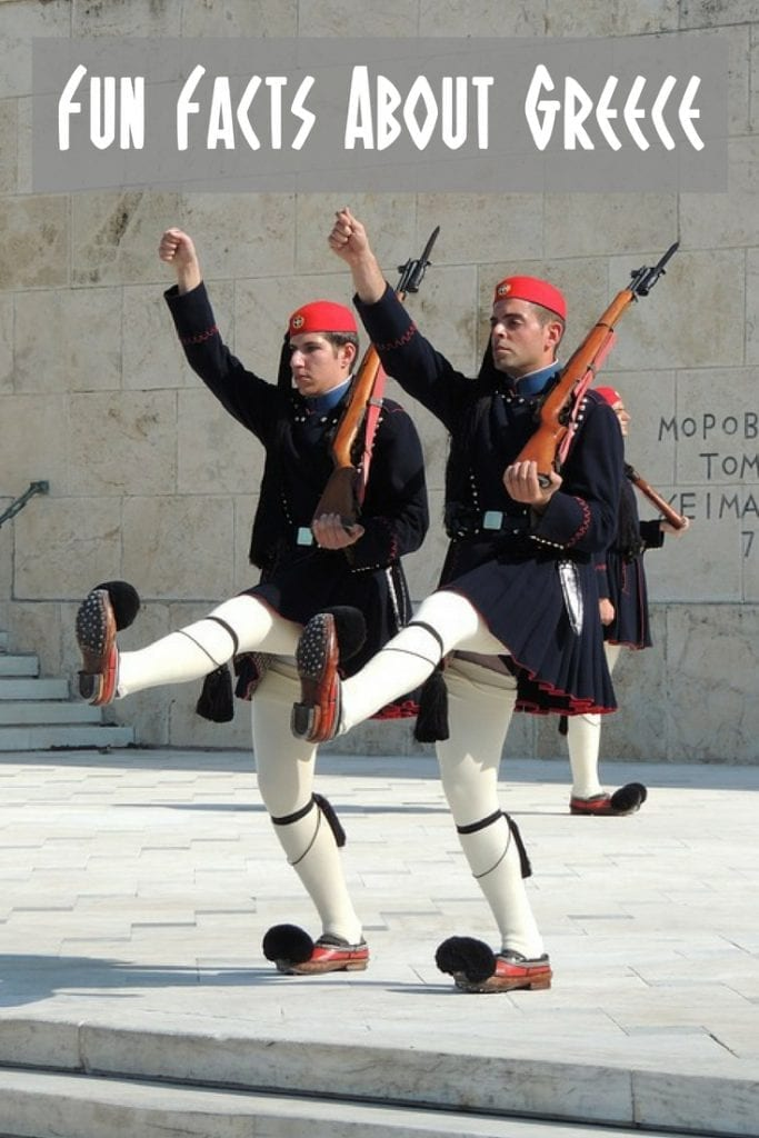 These fun facts about Greece combine the weird and unusual with the insightful.