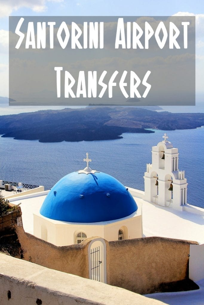 This guide to Santorini airport transfers describes your options for Santorini transfers including bus, taxi, and car hire.