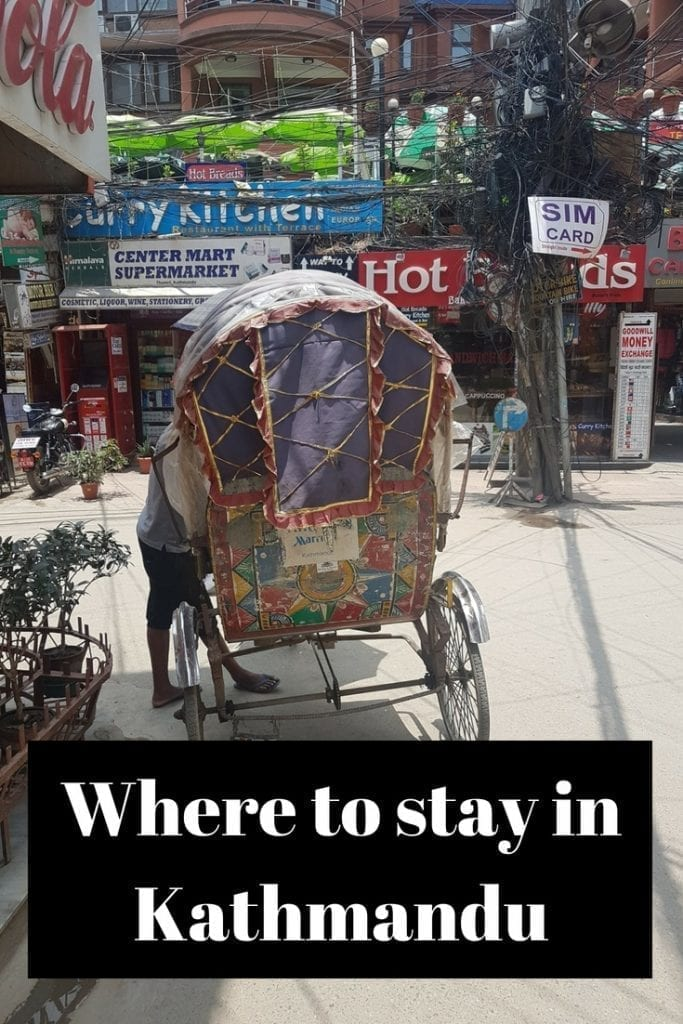 Where to stay in Kathmandu, Nepal