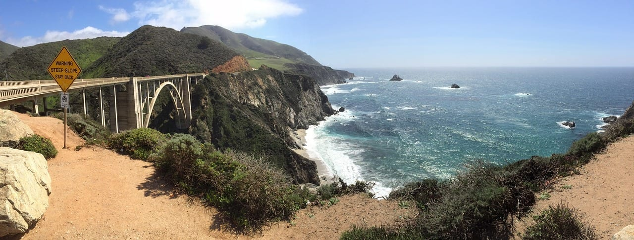Biking the Pacific Highway Route along the west coast USA