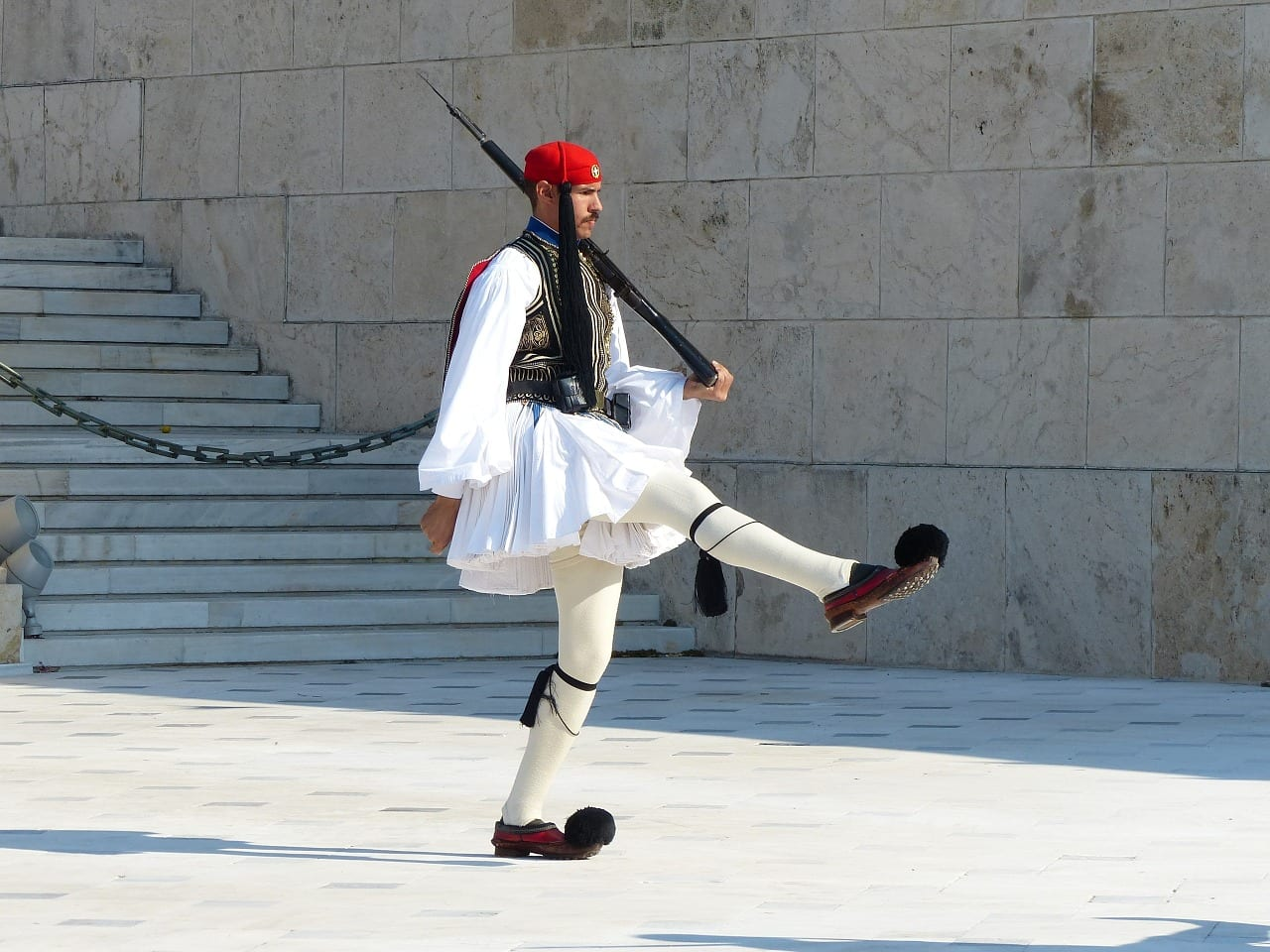 Make sure to see the changing of the guards in Athens during your one day Athens tour