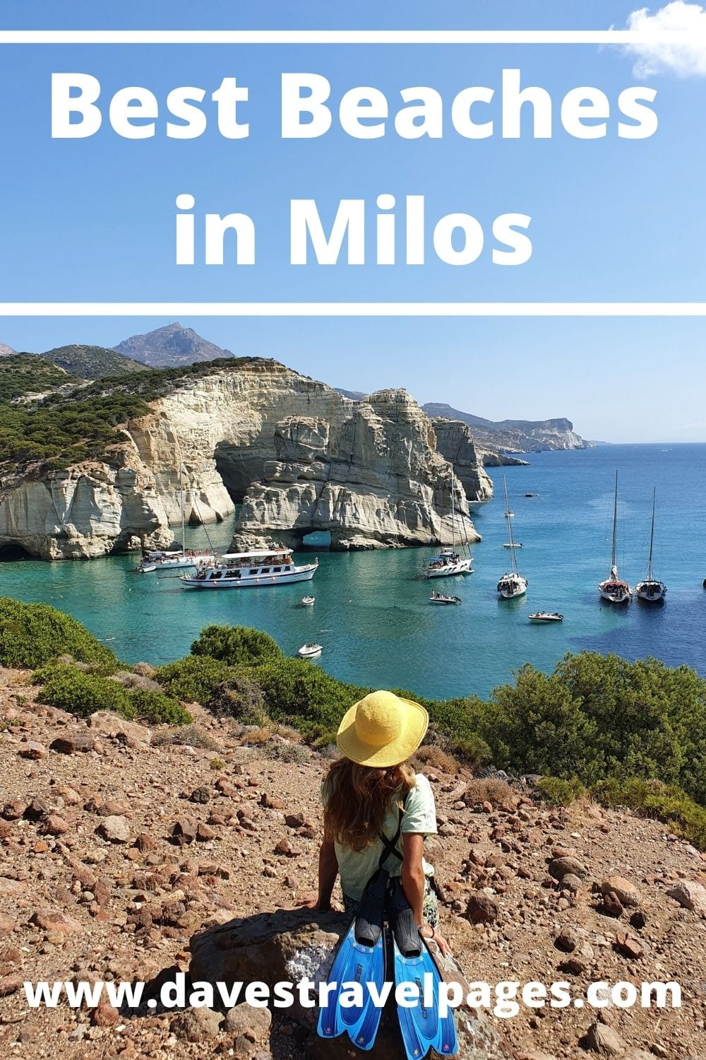The ultimate guide to the best beaches in Milos. With over 70 amazing beaches to choose from, the Greek island of Milos is perfect for beach lovers!