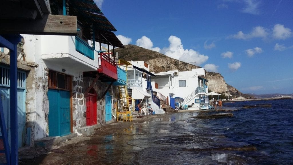 Klima fishing village in Milos