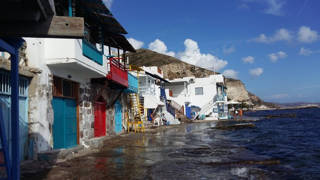 Klima fishing village in Milos