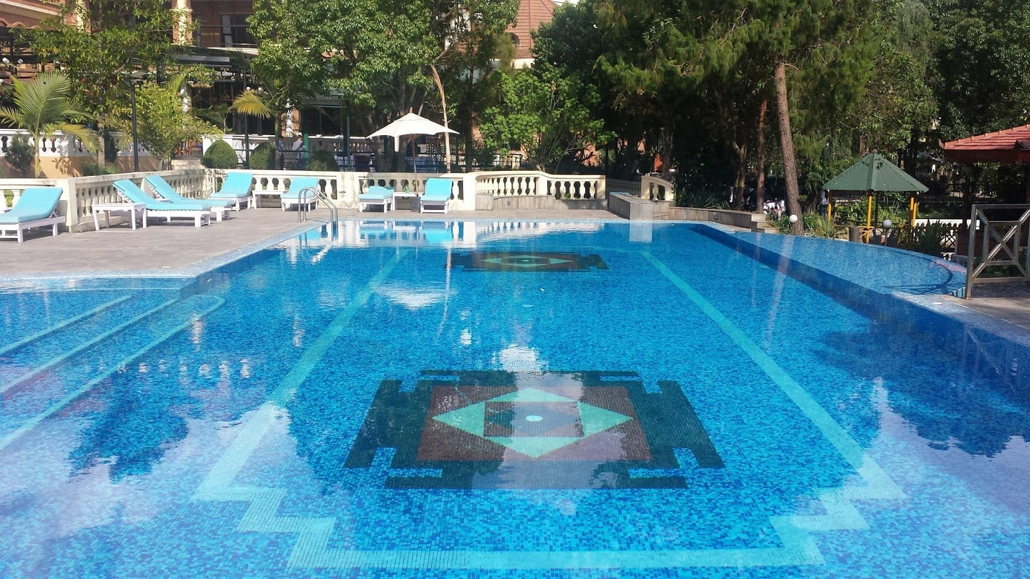 Park village resort swimming pool in Kathmandu
