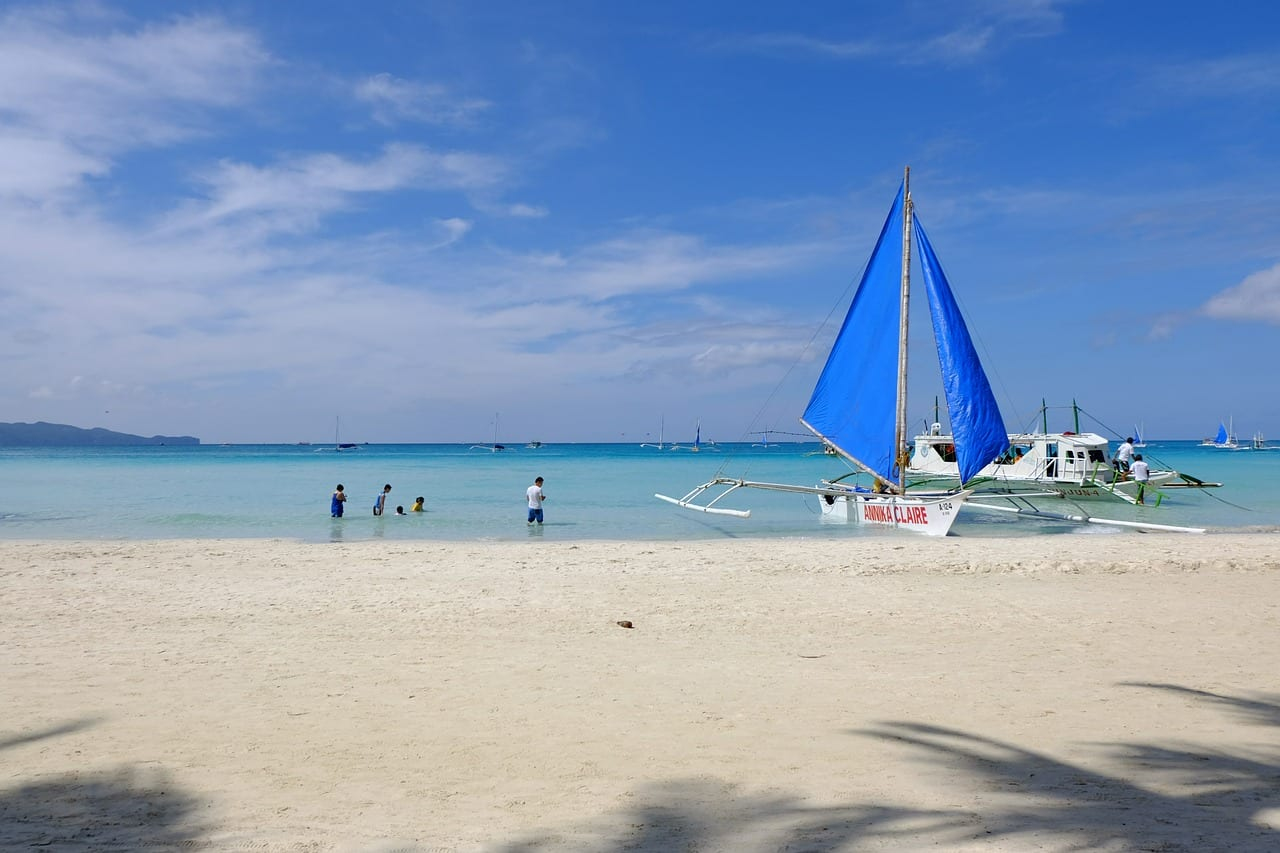 White beach in Boracay