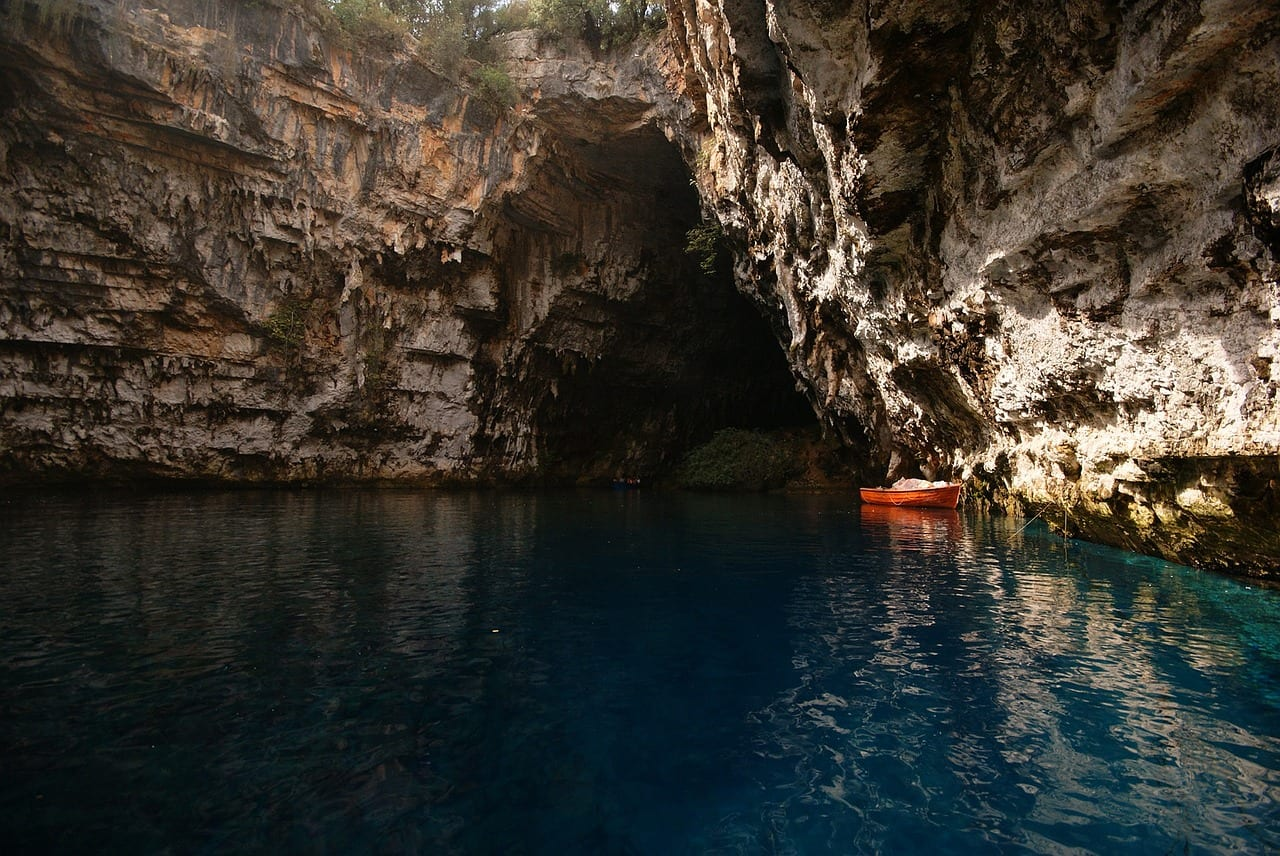 Makes sure to include a trip to Melissani Cave when visiting Kefalonia