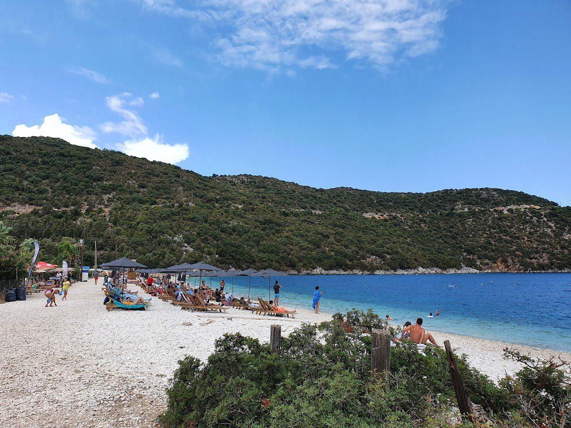 Antisamos beach in Kefalonia