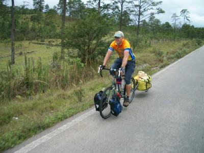 Cycling in Mexico with a Bob Yak trailer
