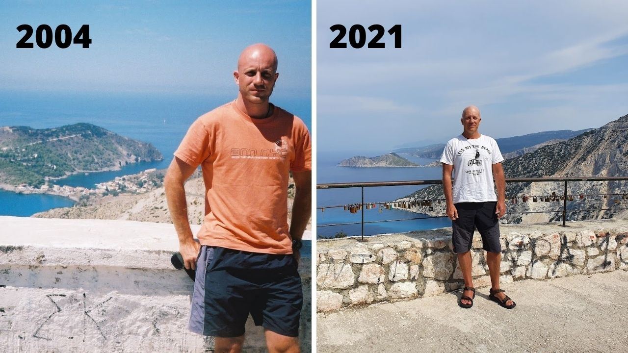 Dave from Dave's Travel Pages in Kefalonia Greece
