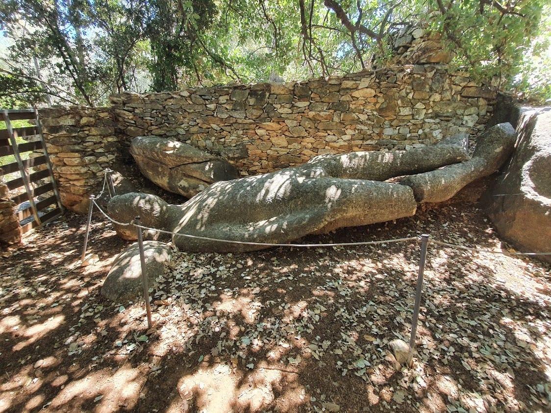Flerio Kouros in Naxos