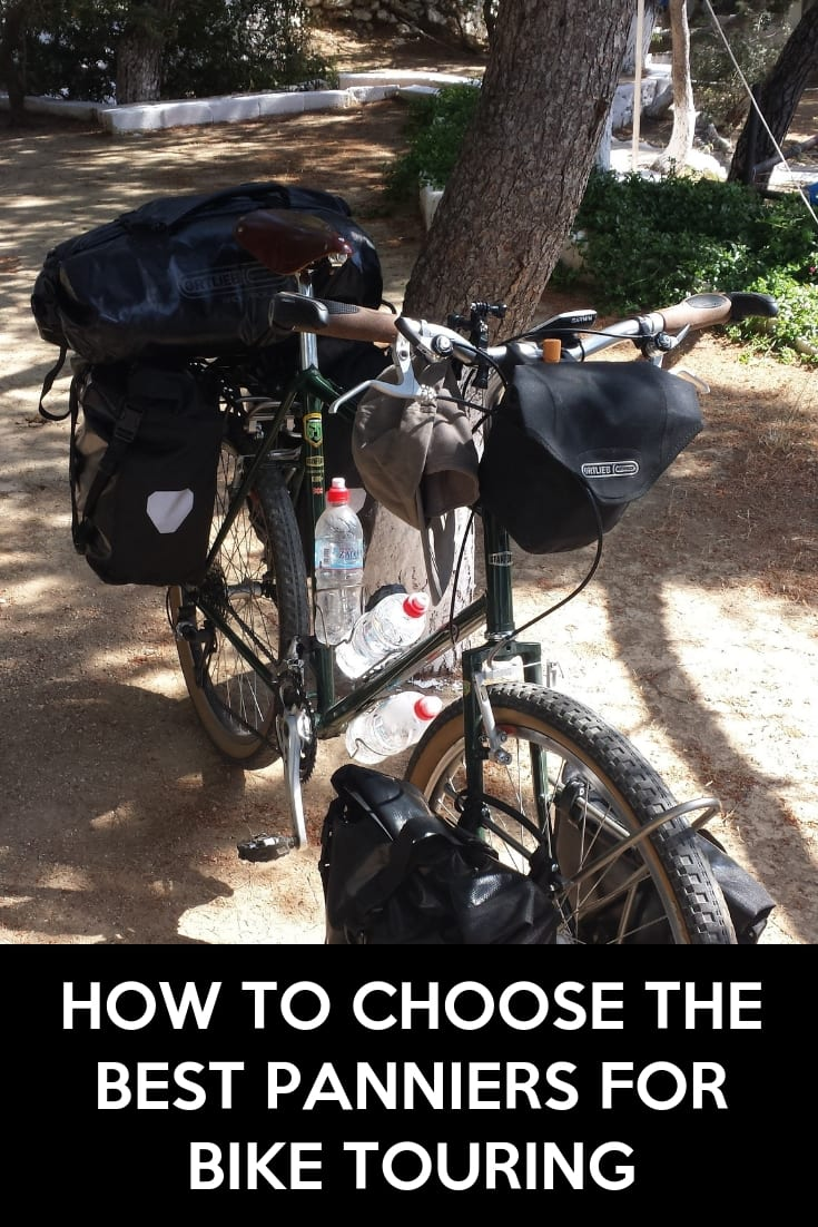 How to choose the best panniers for bike touring