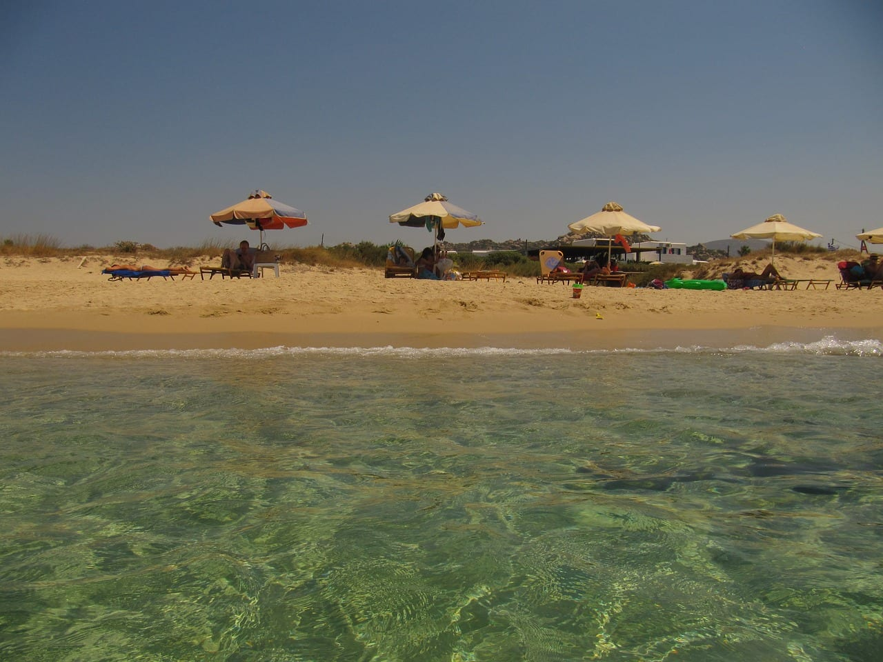 Who wouldn't want to spend the day on the Naxos beaches? They are some of the best beaches in Greece!