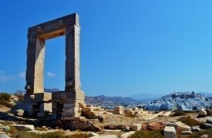The Portara of the Temple of Apollo in Naxos