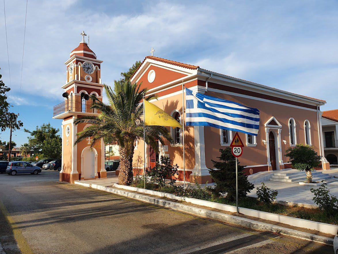 Skala town in Kefalonia