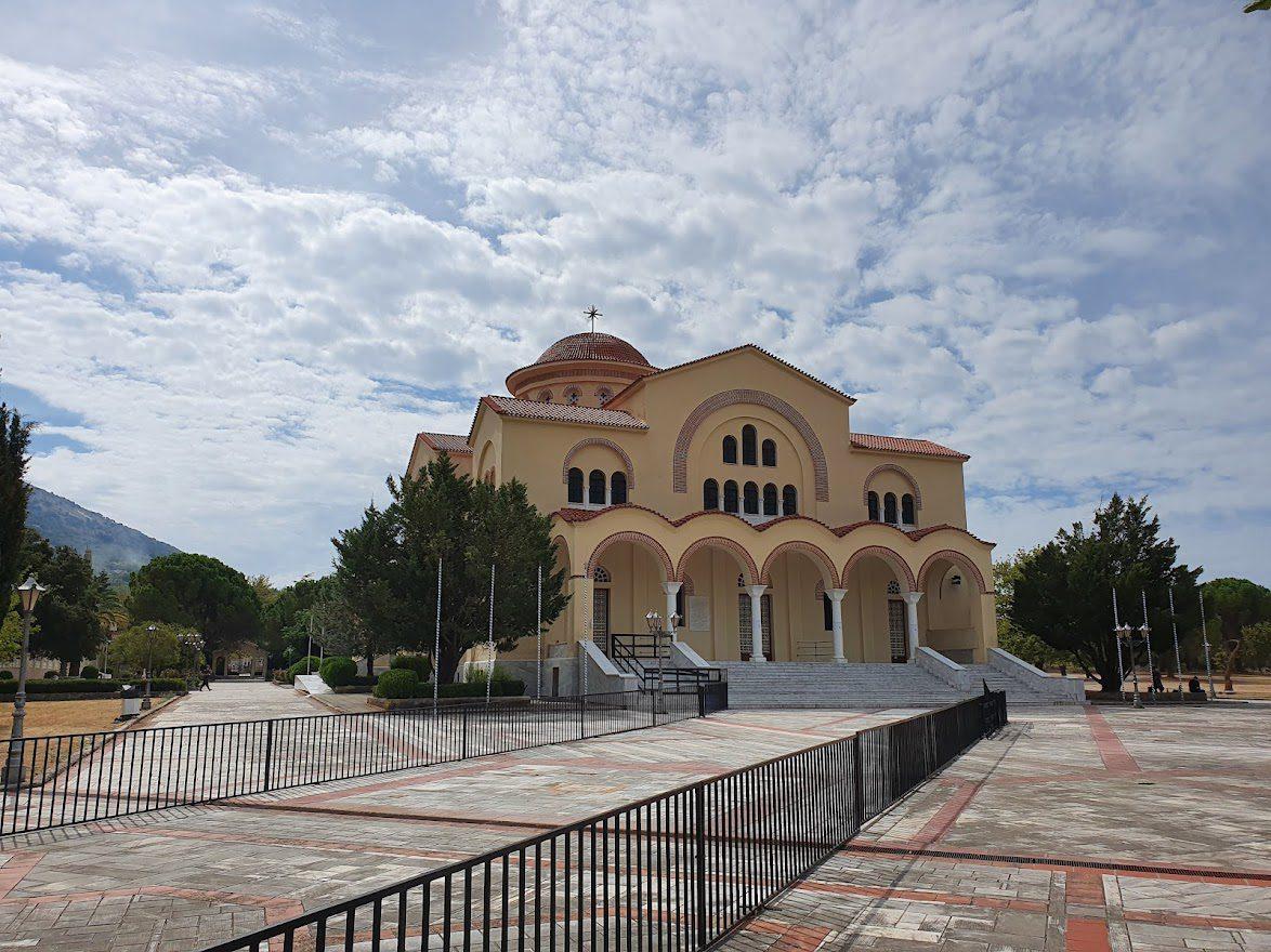 St Gerasmos Monastery and church