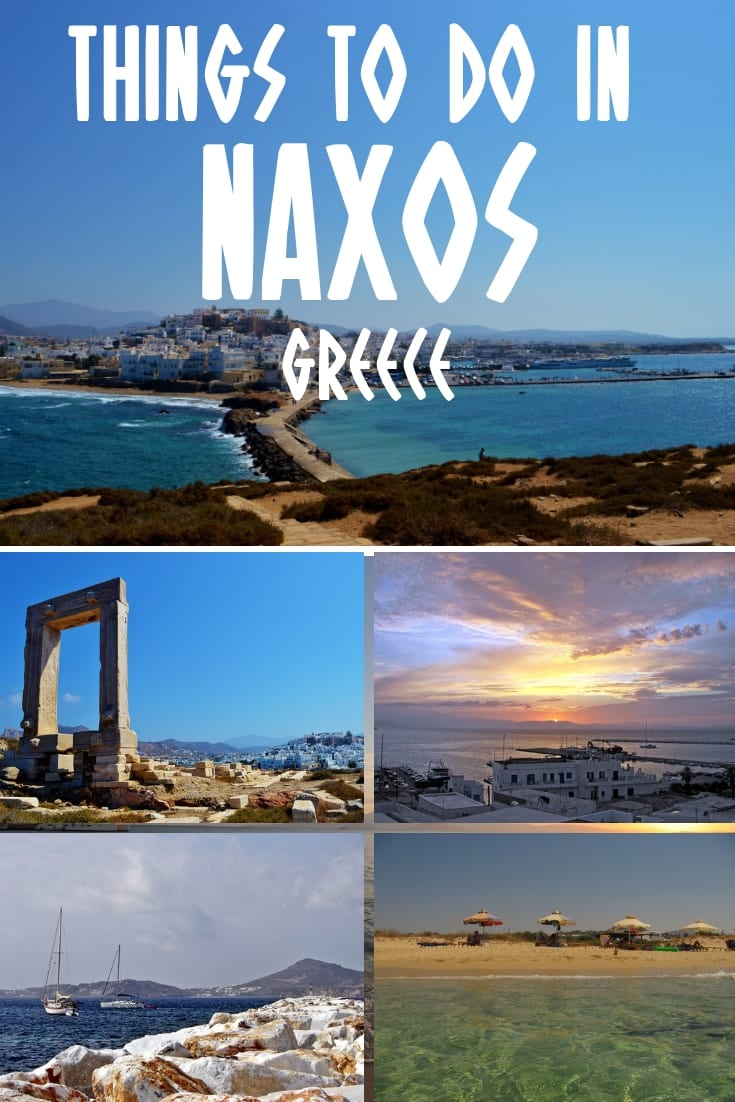 The best things to do in Naxos Greece. Includes where to stay, what to see, and the best beaches in Naxos. Click through to read the full guide.