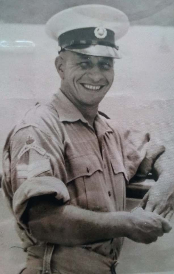 Thomas Briggs served in the RMC and was part of the relief effort to the Ionian islands after the earthquake of 1953