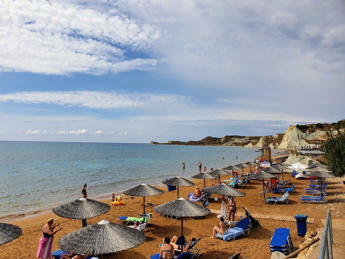 Xi Beach in Kefalonia