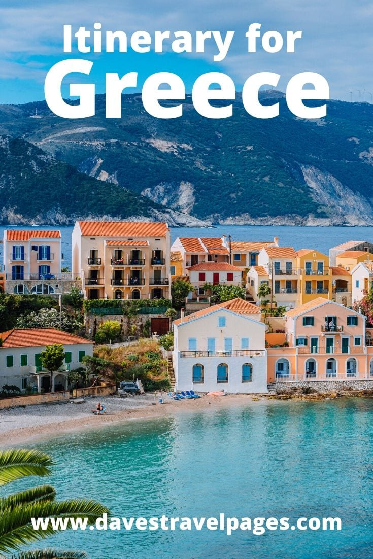 Plan your own itinerary for Greece with this helpful travel guide