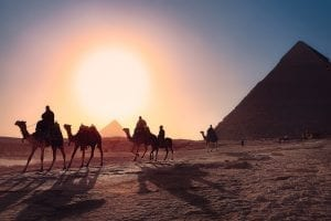 Visit the amazing pyramids of Egypt during a day trip from Cairo