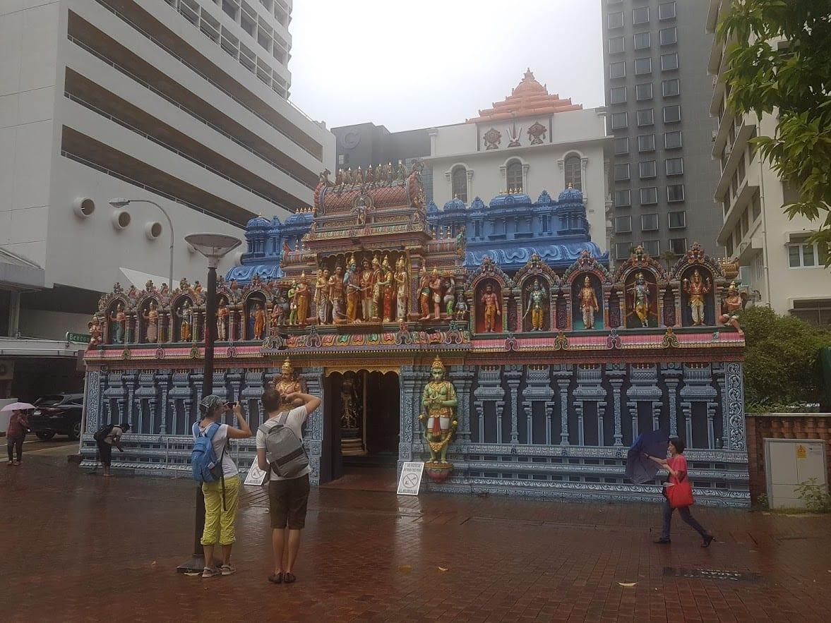 Sri Krishnan Temple in Singapore