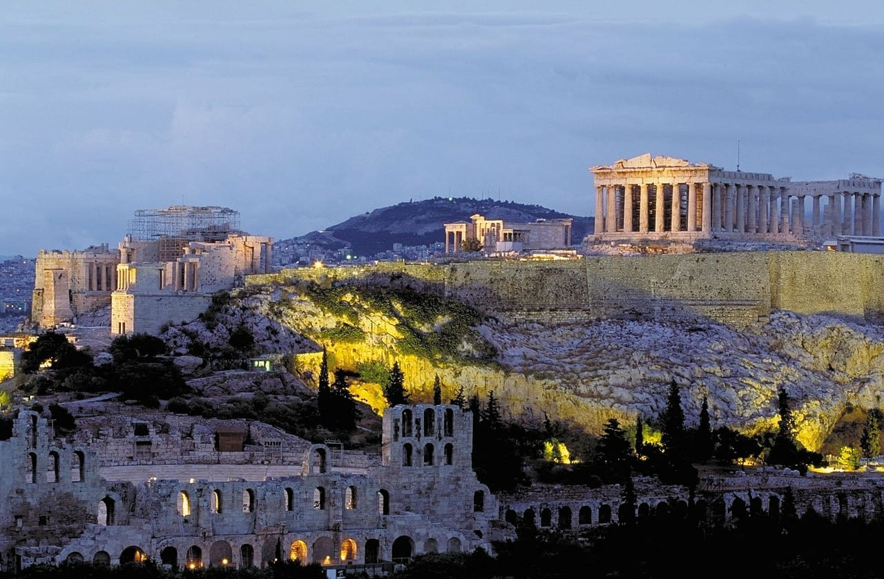 Visiting the Acropolis is a must-do when spending one day in Athens, Greece