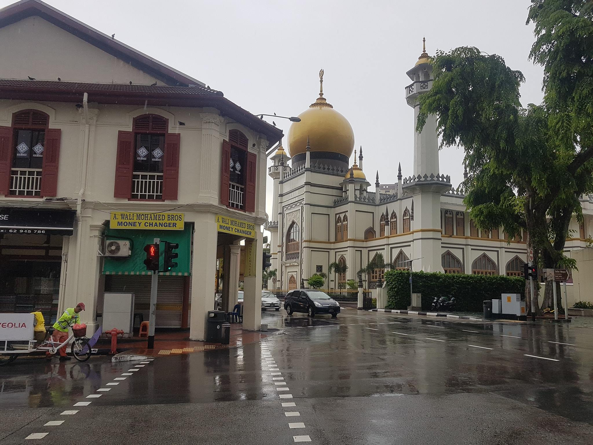 Masjid Sultan Mosque in the Arab Street, Singapore
