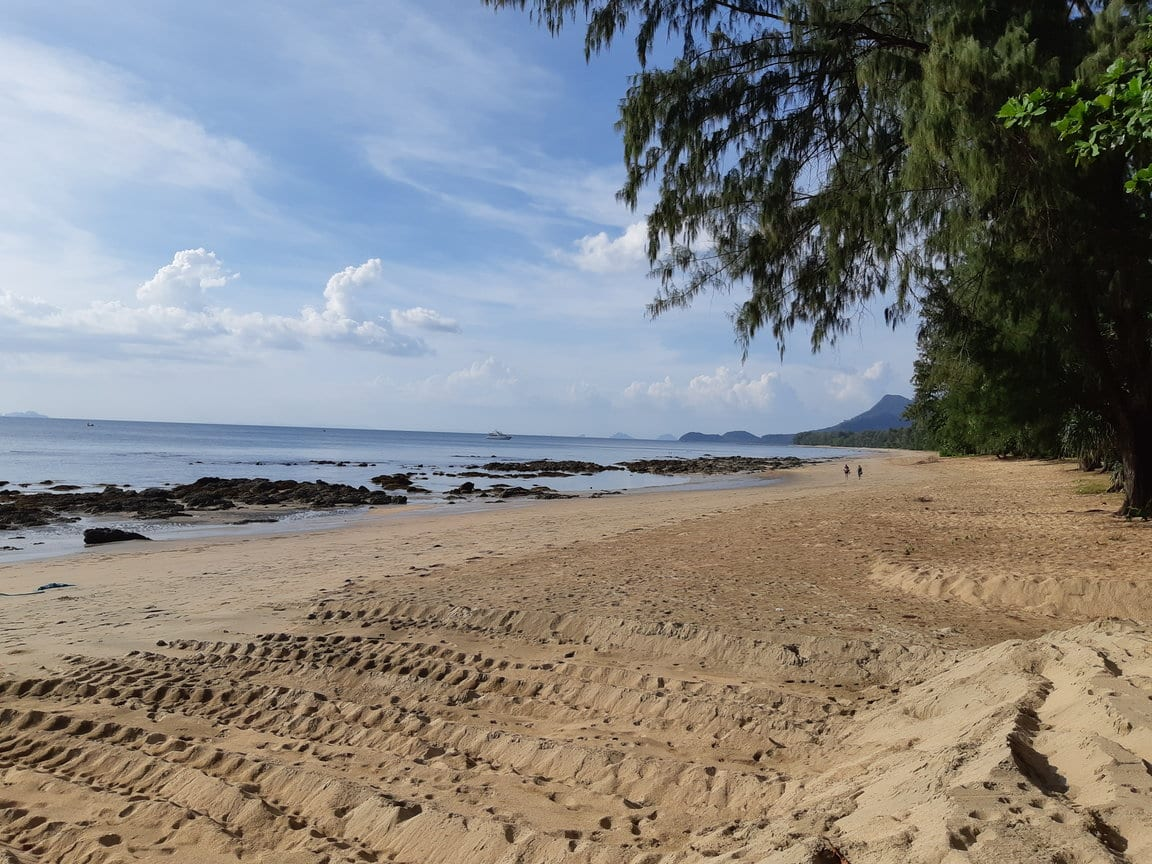 Freedom Huts beach on the Thai island of Koh Jum