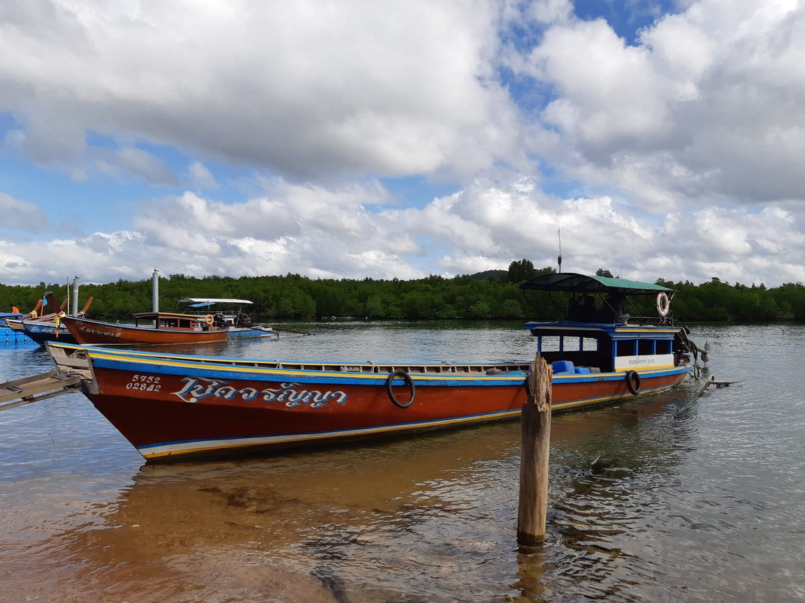 Longtail boat to Koh Jum