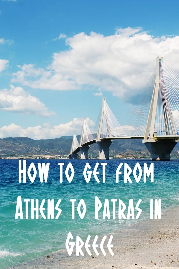How to get from Athens to Patras in Greece by car, bus, train and even bicycle!