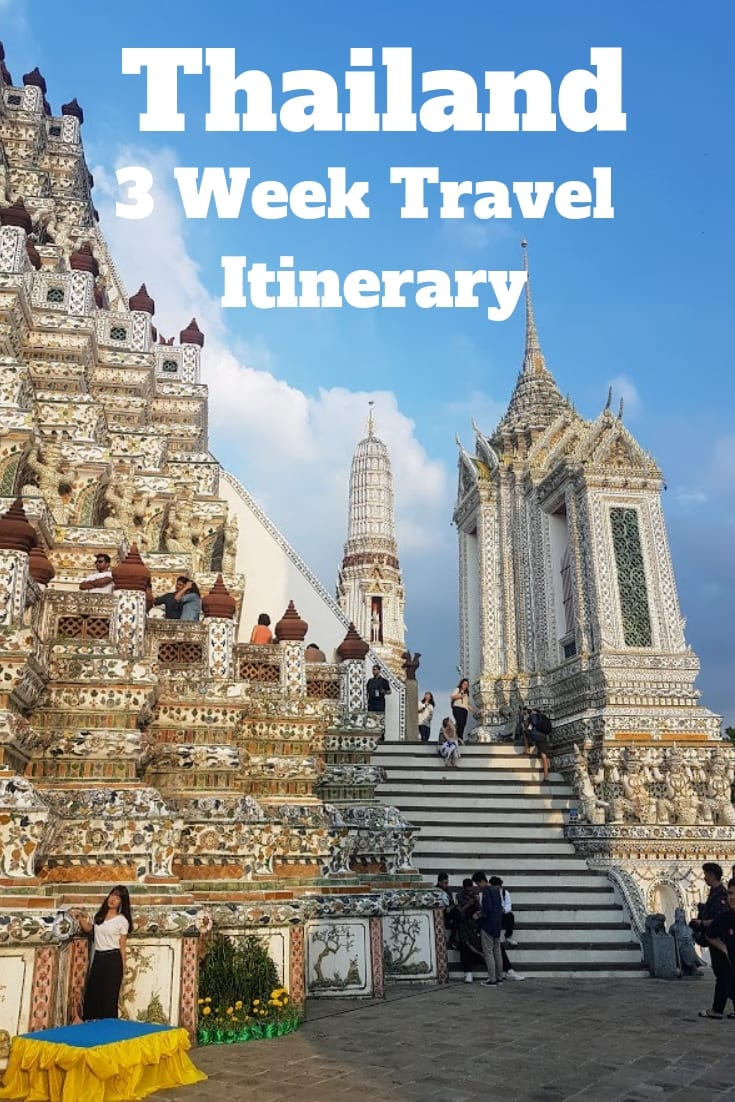 Thailand Itinerary 3 weeks - A chilled Thailand Itinerary