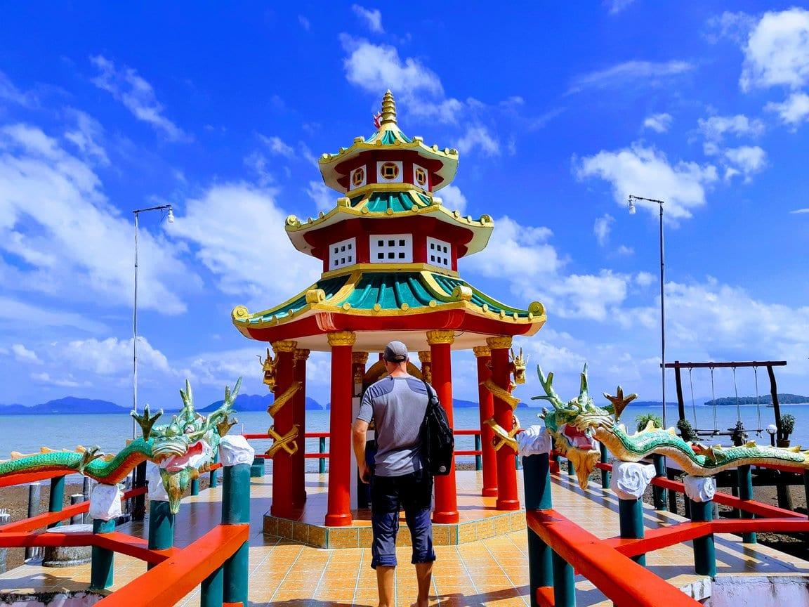 Dave Briggs in Koh Lanta Old Town