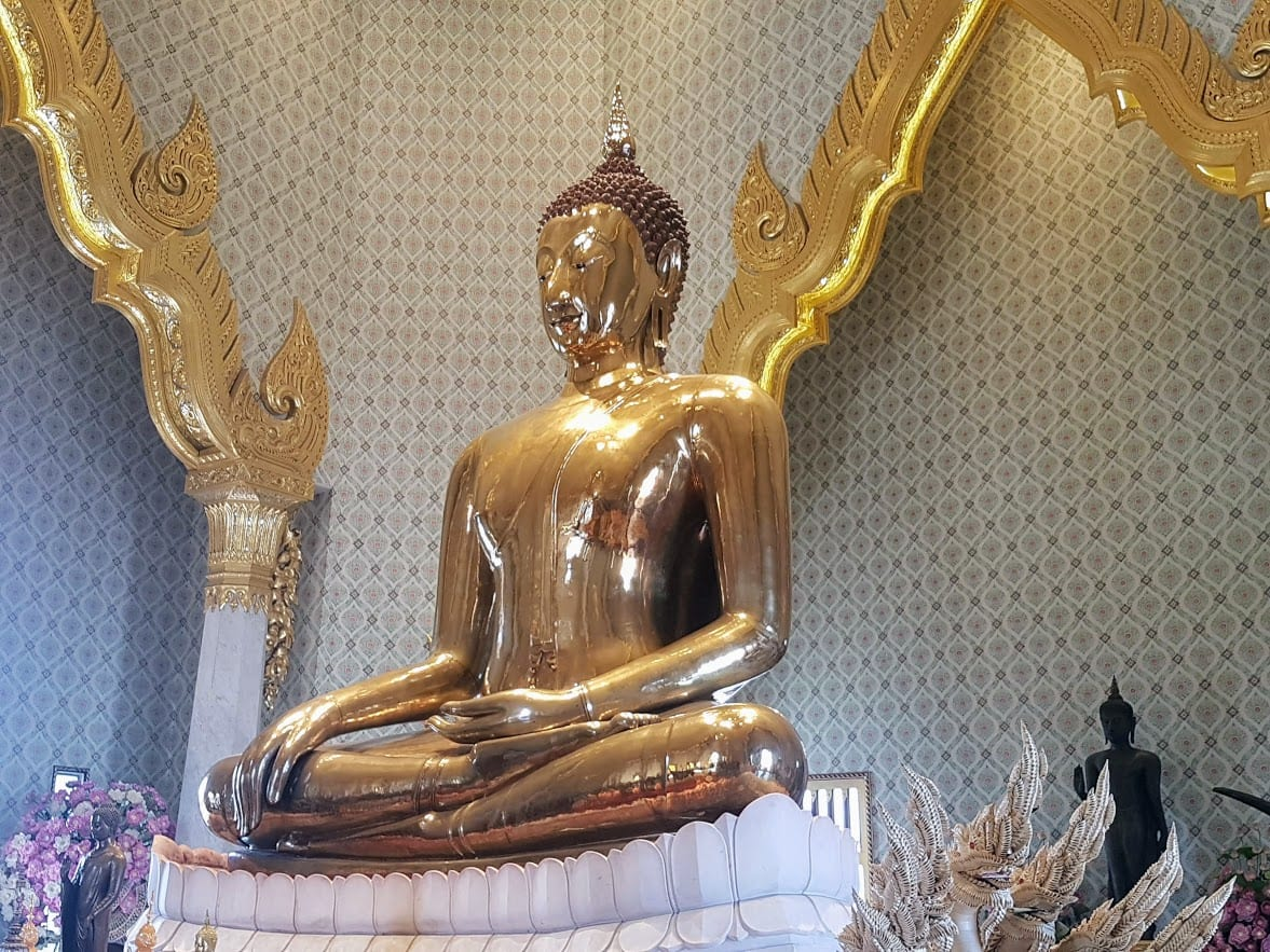 The Golden Buddha statue is an incredible work of art, and one to add to your Bangkok must see list.
