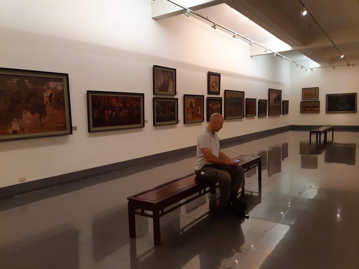 Vietnam National Fine Arts Museum in Hanoi