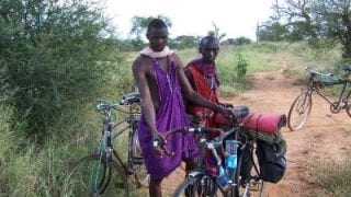 Cycling from England to South Africa