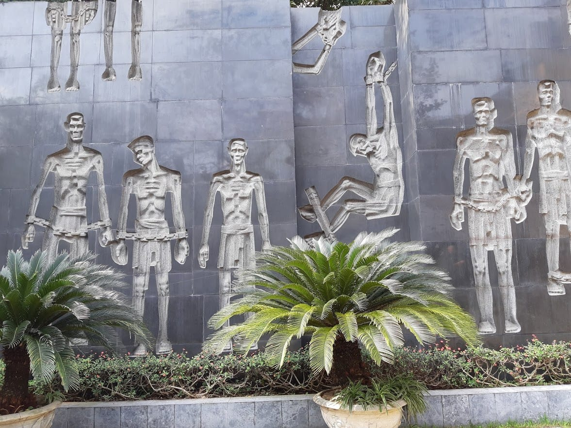 The Hoa Lo Memorial Prison in Hanoi is a must do when in Hanoi for 2 days.